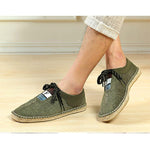 Men Breathable Soft Linen Shoes