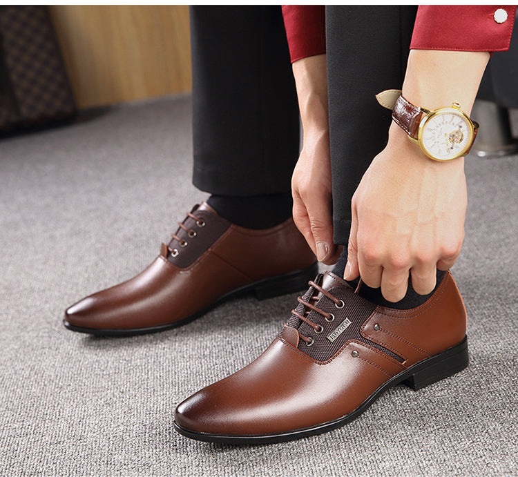 ee00e7c3e2a Luxury Pointy Men s Business Dress Shoes
