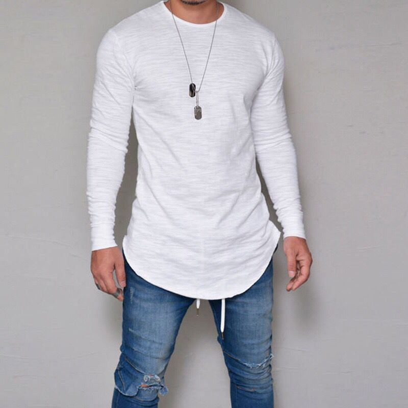 Casual Soft Long Sleeve Men Shirts