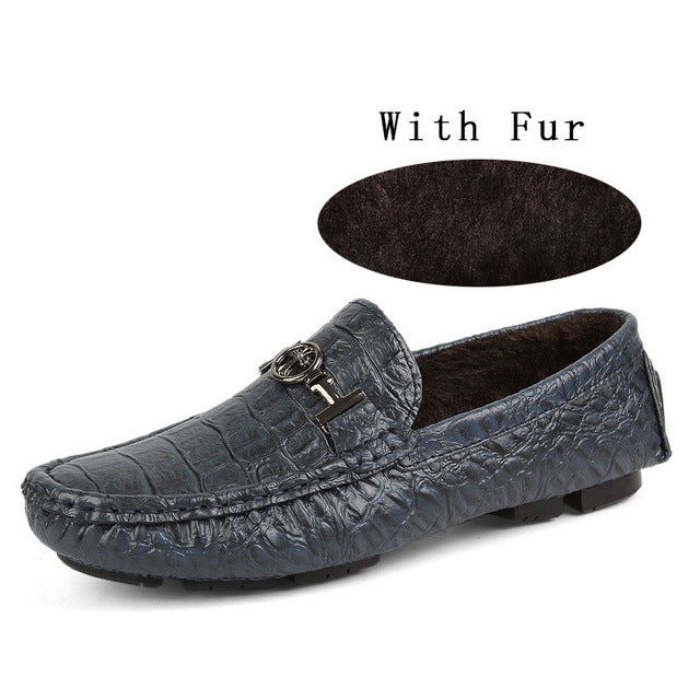 Big Size Soft Leather Business Men Shoes