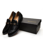 Men Shoes Brand Casual Leather Black Men Shoes Luxury Brand Loafers