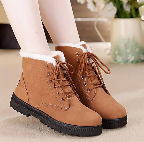 Waterproof Classy High Quality Women Warm Boots
