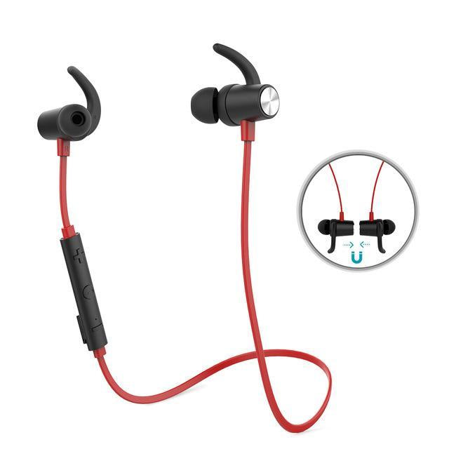 Magnetic Bluetooth Sport Earphone with Mic