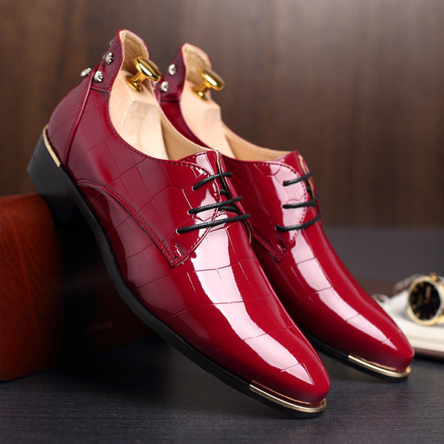 2018 New Fashion PU Leather Shoes