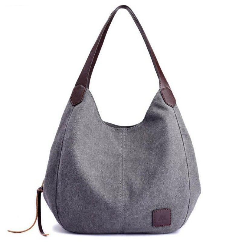 2018 Hot Fashion Women's Handbag Cute Girl Tote Bag Lady Canvas Hobos Shoulder Bag Female Large Capacity Small Leisure Bag S1148