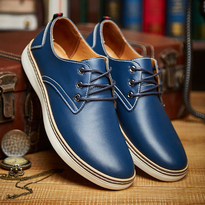Men Leather Business Shoes