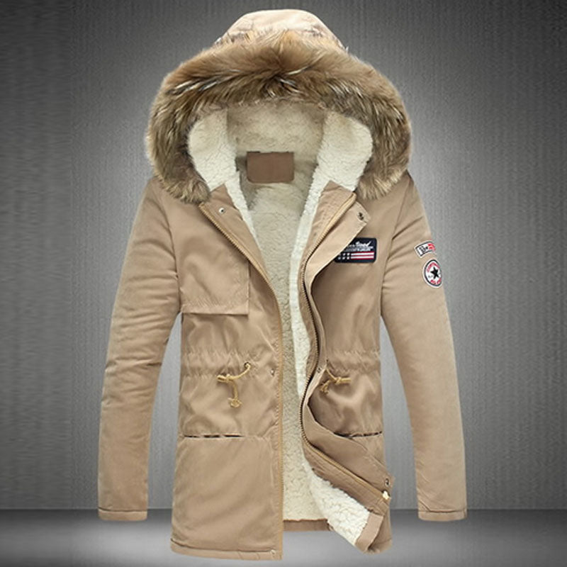 New Winter Thick Warm Coats S-5XL