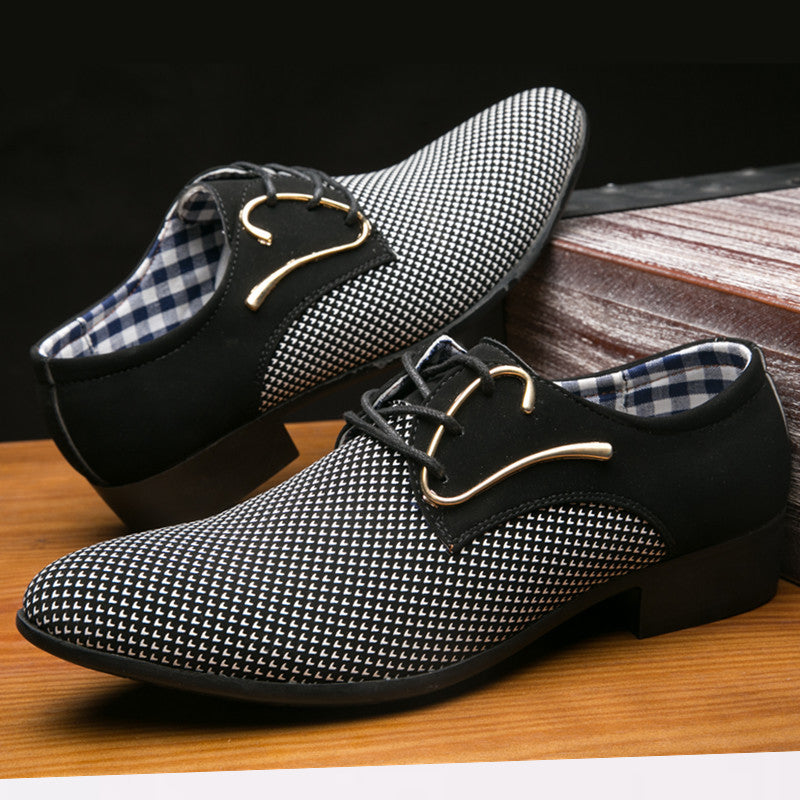 Men Leather Shoes Office Men's Dress Suit Shoes Italian Style Wedding Casual Shoes Pointed Toe Business Men Shoes