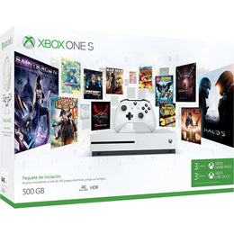 Xbox One S Consola 500GB + Game Pass y Live Gold 3 Meses Bundle Edition
