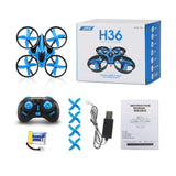 Mini Dron JJRC H36 RC Quadcopter 6 Axis LED