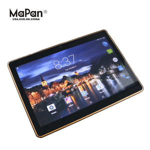 "Tablet 10"" Android 6 16GB Smart PC Tablet GPS Quadband 3G Dual Sim & Camara"