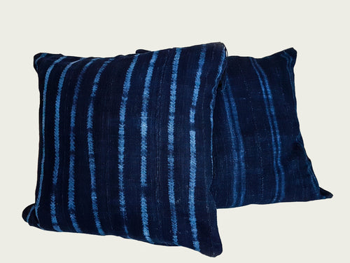 Vintage Indigo Pillow Case