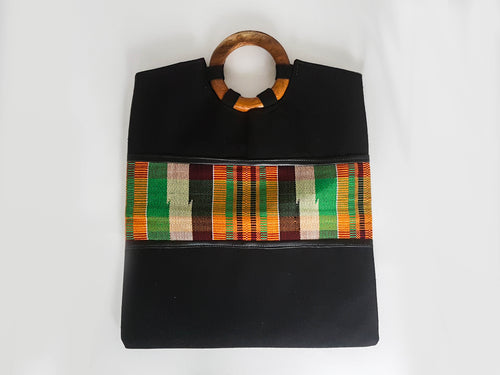Kente Strip Bag