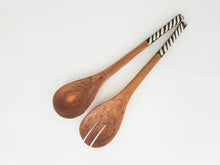 Serving Spoons with Bone Handle