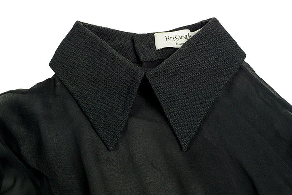 YSL Sheer Blouse
