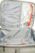"$160 NEW Revo Airborne 20"" Soft Spinner Suitcase Carry on luggage Gray - evorr.com"