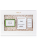 WOODLOT 3-Pc. Essentials Gift Set Recharge Soap Bar Cinder Candle Essential Oil