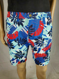 New Tommy Hilfiger Men's Blue Cotton Casual Chino Shorts Khakis Printed Size 32 - evorr.com