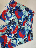 Tommy Hilfiger Mens Blue Cotton Casual Chino Shorts Khakis Printed Size 35 W - evorr.com