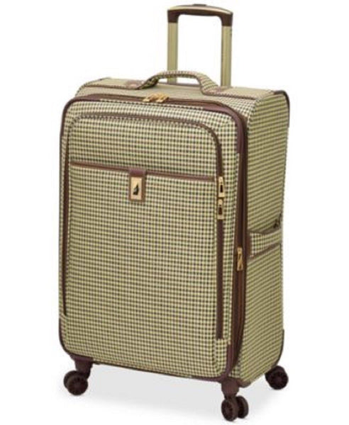 "London Fog Oxford Hyperlite 25"" Expandable Spinner Suitcase Luggage"