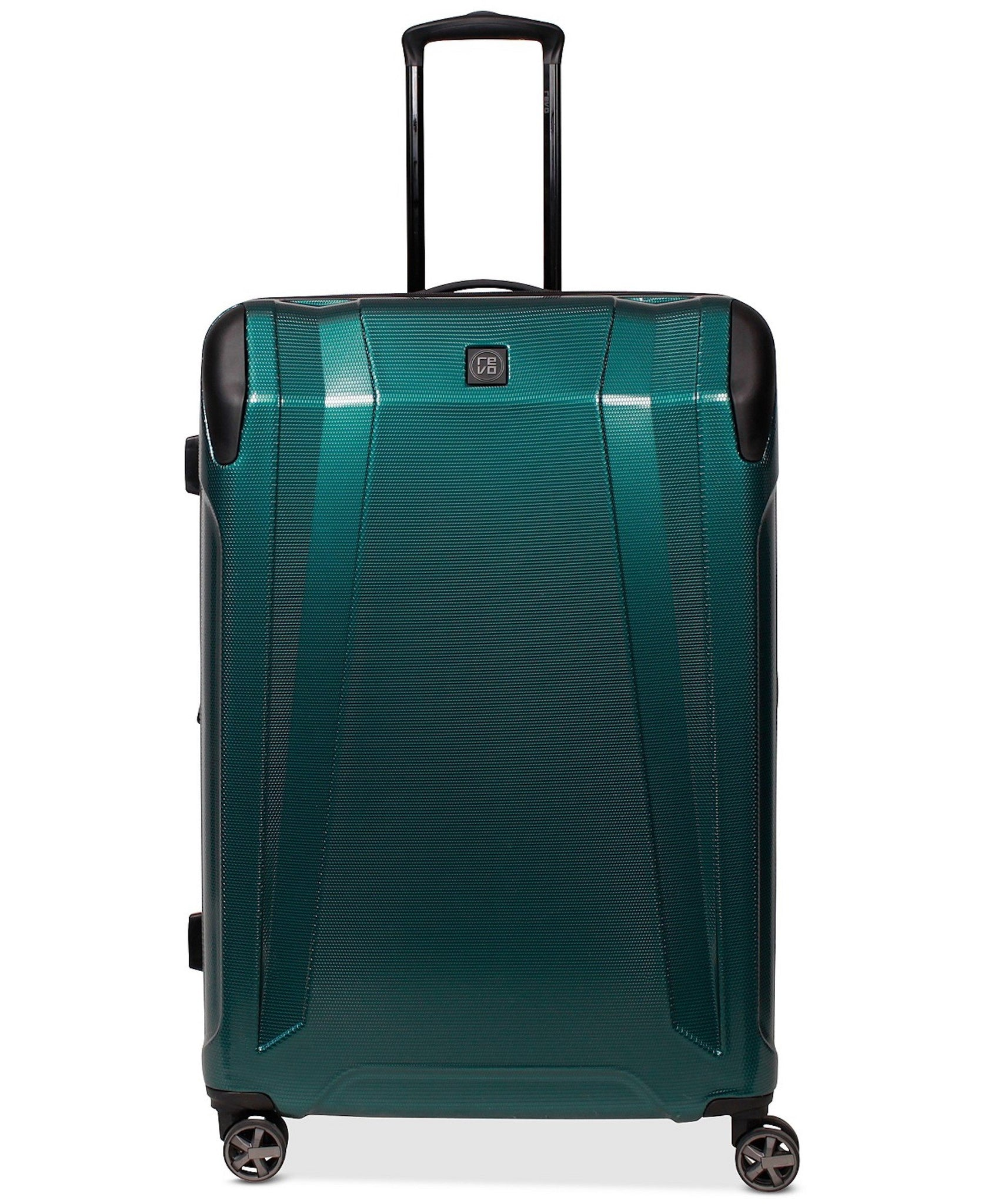 "$360 REVO Apex 29"" Expandable Hardside Spinner Suitcase Luggage Teal"