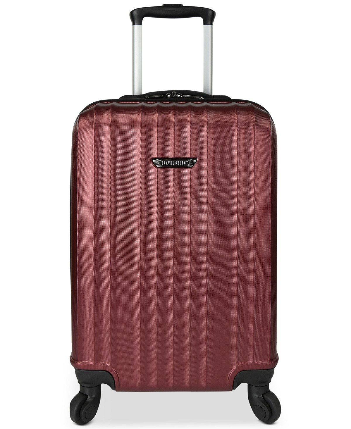 "$220 Travel Select Durango 20.5"" Hardside Carry-On Spinner Suitcase Red"