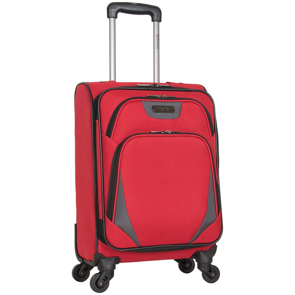 "Kenneth Cole Reaction Going Places 20"" 600d Polyester Expandable 4-Wheel Spinner Carry-on Luggage"