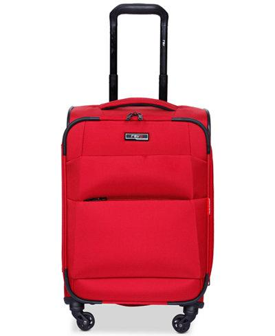 "$160 Revo Airborne 20"" Softside Spinner Suitcase Carry on luggage"