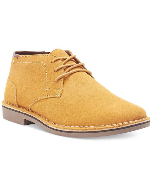 Authentic Men's Kenneth Cole Reaction Desert Sun Suede Chukka Boots Shoes Yellow 10 US