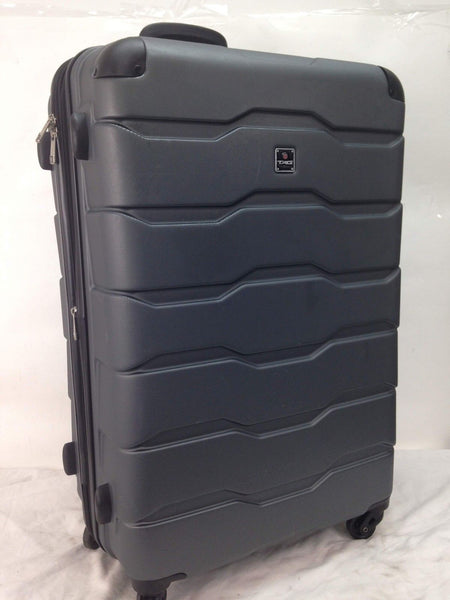 $280 Tag Matrix 2 28'' Hard Spinner Lightweight Travel Suitcase Luggage Gray