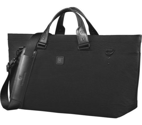 $499 NEW Victorinox Lexicon 2.0 Weekender Deluxe Tote Travel Carry On Bag Black