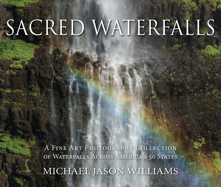 Sacred Waterfalls Hard Cover