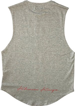 Varsity Kings Muscle Tank Grey
