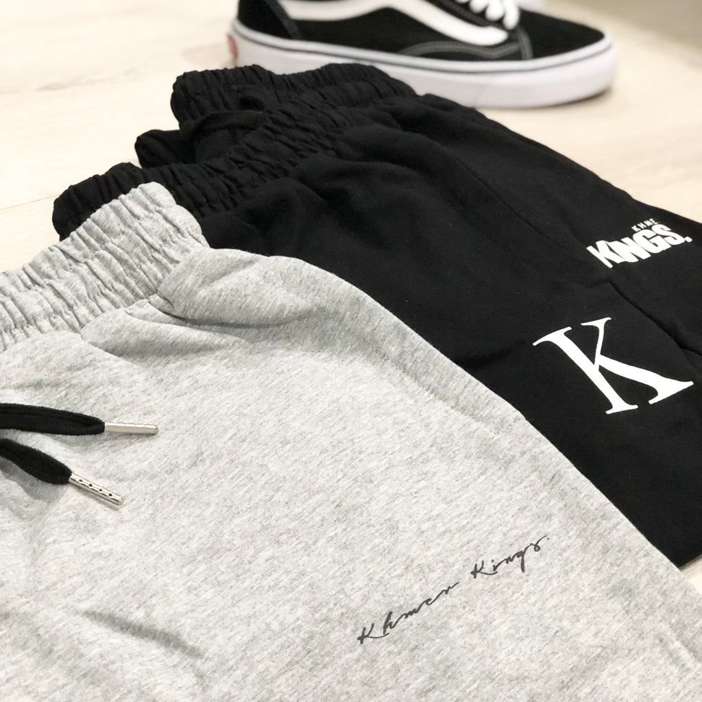 Grey Signature Sweatpants (Unisex)