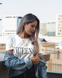 Queens Tee (White)