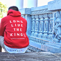 'Long Live The Kings' Red Hoodie