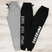 Black K Sweatpants (Unisex)