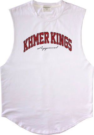 Khmer Kings College Tank (White)