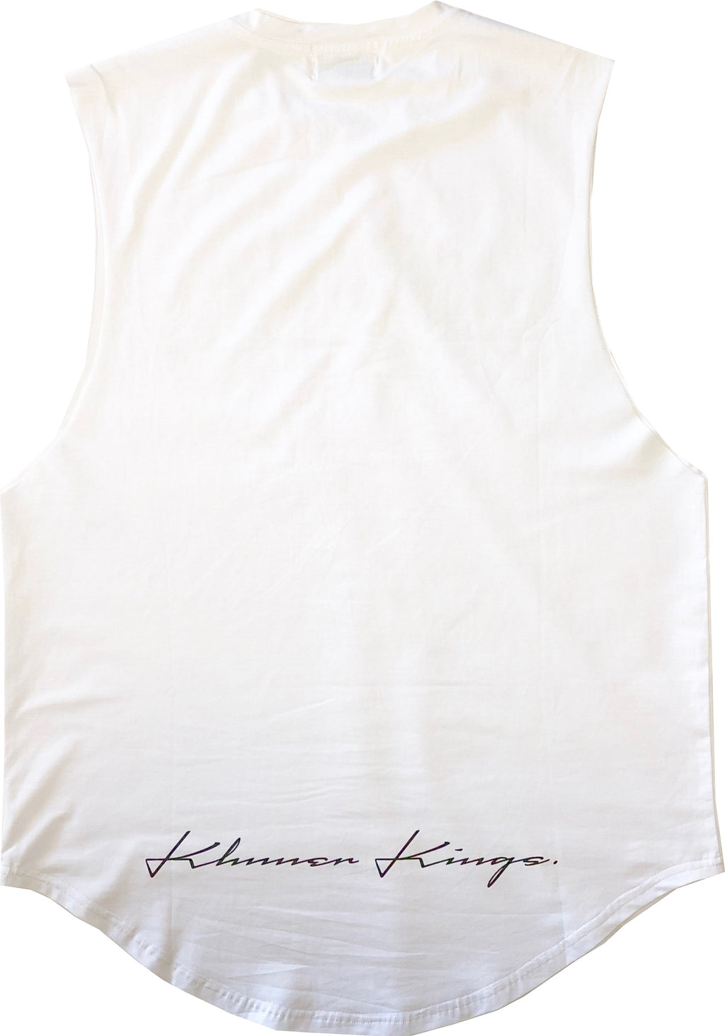 Varsity Kings Muscle Tank White