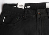 "KENNEDY ""1903 CLASSIC"" WASHED DENIM JEANS (JET BLACK)"