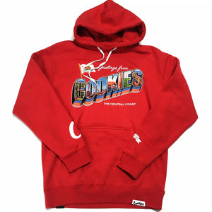 "COOKIES SF X SOFRESH CLOTHING ""CENTRAL COAST"" HOODIE (RED)"