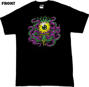 "JIMBO PHILLIPS ""CYCLOPTOPUS"" TEE (BLACK/PINK)"