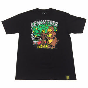 "LEMON TREE ""BEAR"" TEE (BLACK)"