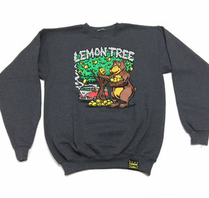 "LEMON TREE ""BEAR"" CREWNECK (CHARCOAL HEATHER)"