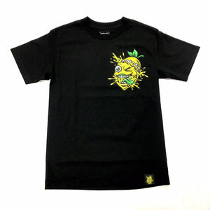 "LEMON TREE ""SPLAT CHEST"" TEE"