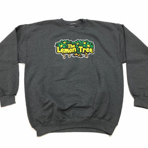 "LEMON TREE ""LOGO"" CREWNECK (CHARCOAL)"