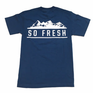 "SFC ""MOUNTAIN"" TEE (HARBOR BLUE)"