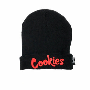 "COOKIES ""THIN MINT"" BEANIE (BLK/RED)"