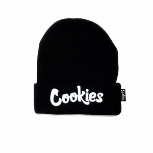 "COOKIES ""THIN MINT"" BEANIE (BLK/WHITE)"