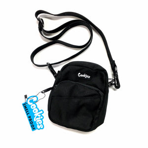 "COOKIES ""CLYDE"" SMALL SHOULDER BAG (BLACK)"